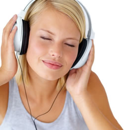 Deal with anxiety sound therapy